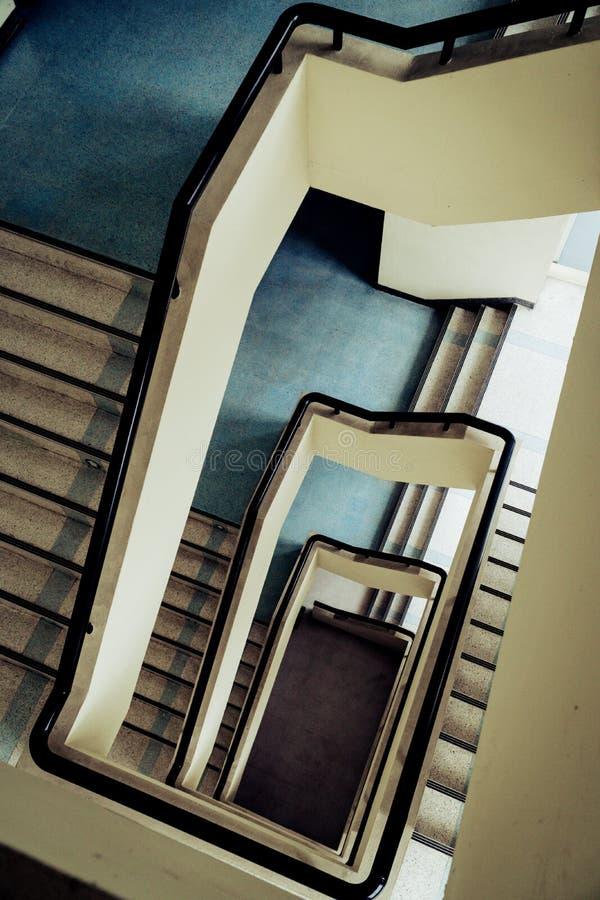 Schodki Buduje wnętrze fotografia royalty free