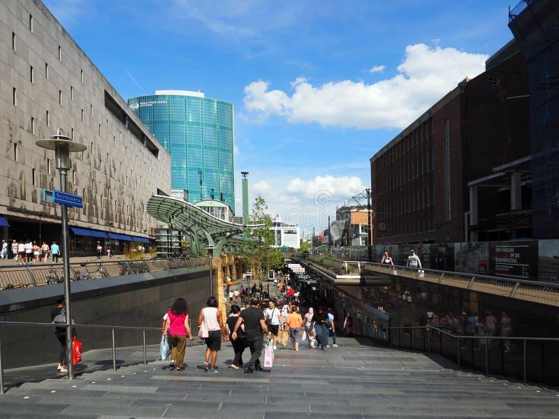 Schodki Koopgoot w Rotterdam obraz stock