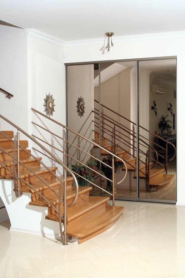 schodowy drewna zdjęcia stock