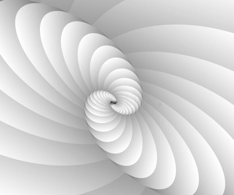Schodowych skrzynki spirali luksusu spirali techniki Nowożytnych grafika Wektorowy Ilustracyjny Wektorowy futurystyczny projekt ilustracja wektor