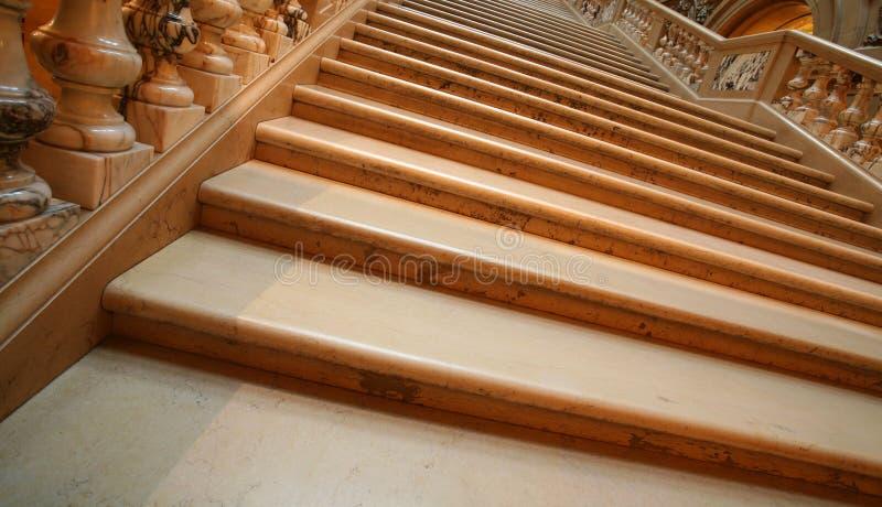 schody śledzony marmuru obraz stock
