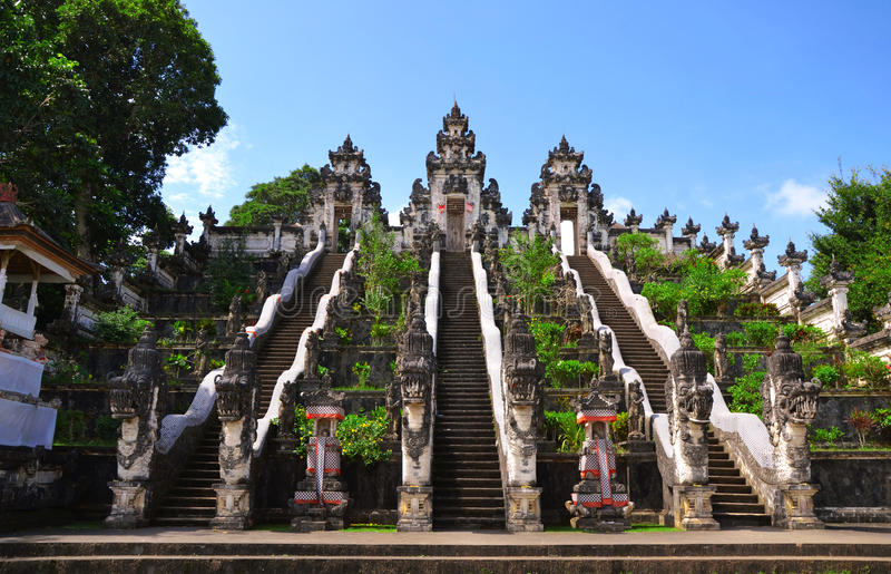 Schody świątynia fotografia stock