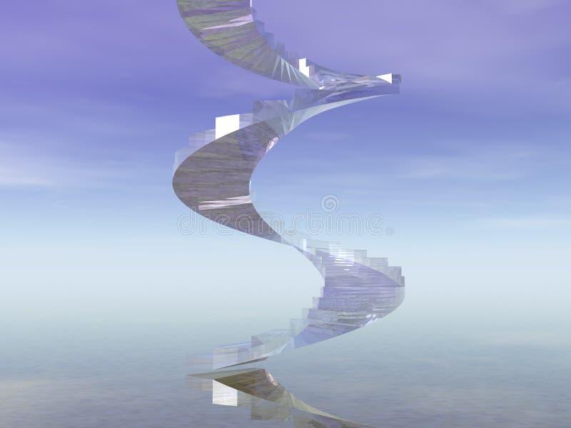 schody 3 d ilustracja wektor