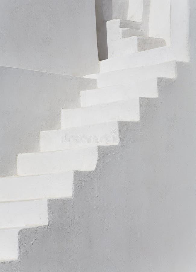 schody białe obraz stock