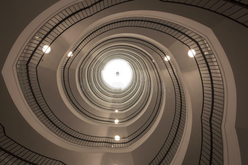 Schody budynek biurowy fotografia royalty free