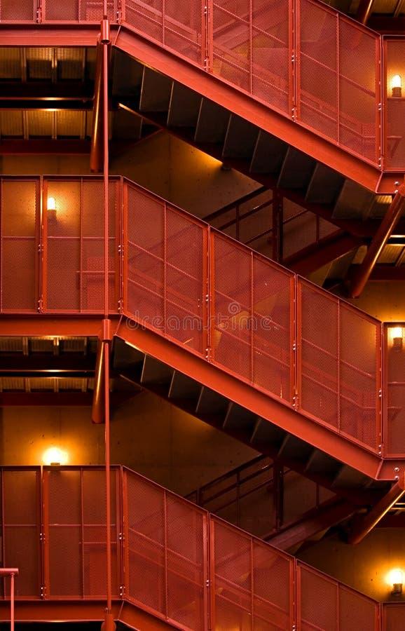 schody garażu. zdjęcia royalty free