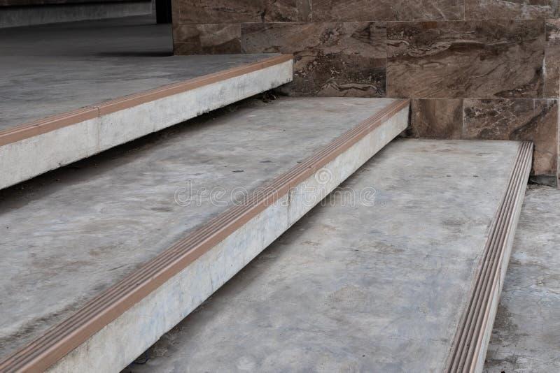 Schody kamienny plenerowy obraz stock