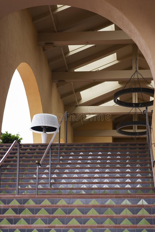 Schody korytarz fotografia stock