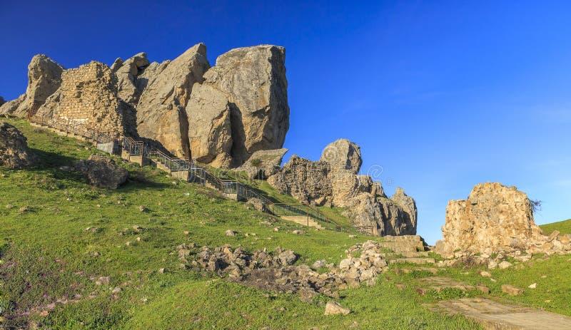 Schody prowadzi święty halny Beshbarmak (Pięć żebro zdjęcia stock