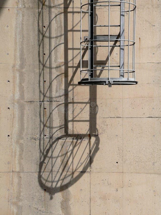 schody przemysłowych zdjęcia stock