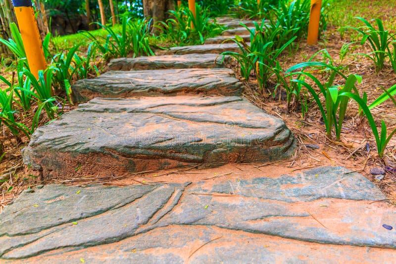 Schody Tworzący Dużym mieszkaniem Kołysa Prowadzić wierzchołek wzgórze zdjęcie royalty free