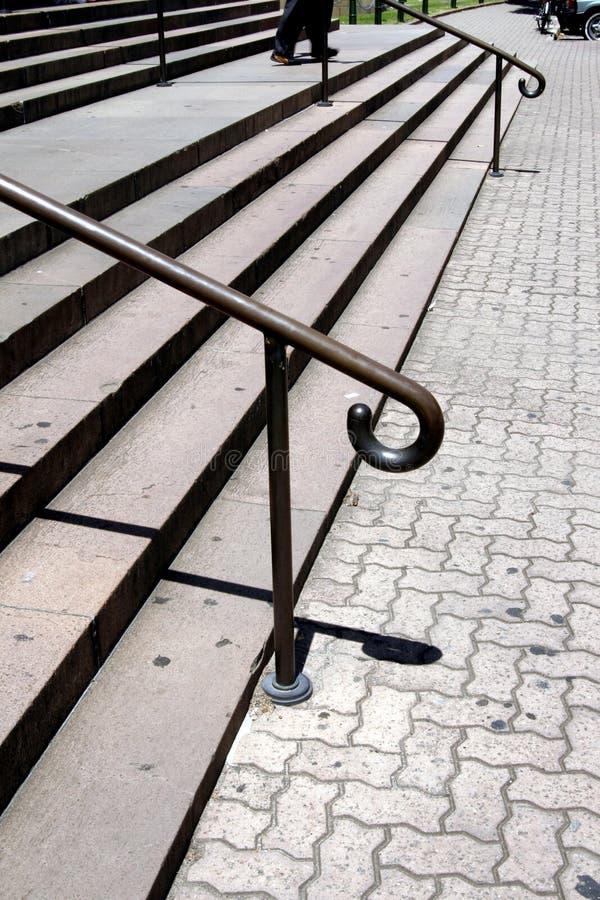 schody znajdujące się na zewnątrz obrazy stock