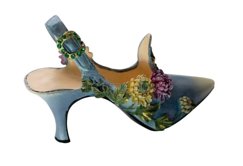 Schoen-bloemen (miniaturen) Reeks stock fotografie