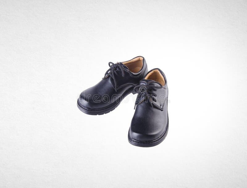 schoen of jongensschoenen op een achtergrond royalty-vrije stock foto
