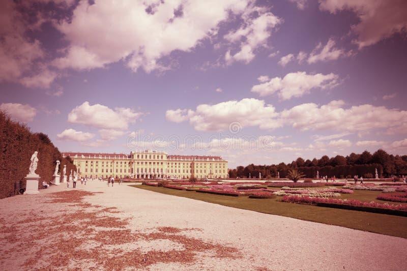 Schoenbrunn royaltyfri bild