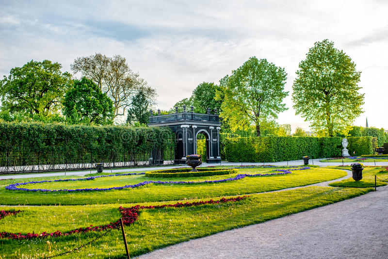 Schoenbrunn Gardens In Vienna Editorial Stock Image - Image of space ...