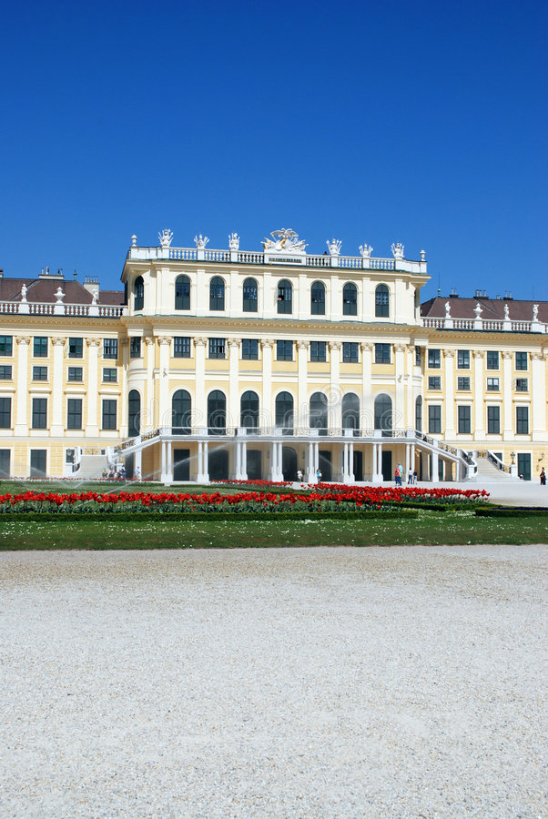 Download Schoenbrunn Palace stock photo. Image of austria, trip - 2323472
