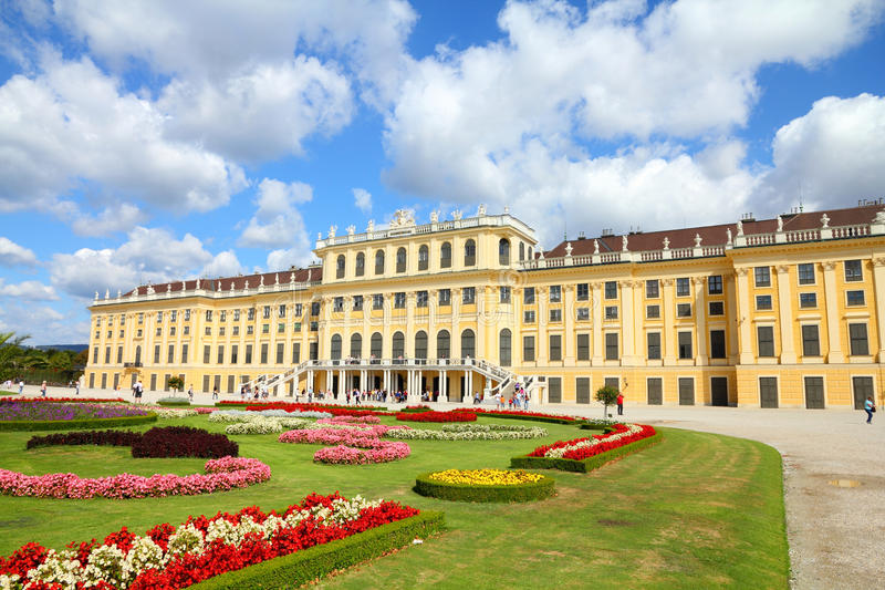 Schoenbrunn Palace, Vienna royalty free stock images