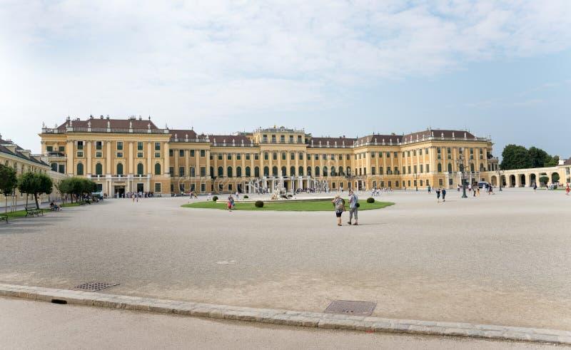 Schoenbrunn Sissi Castle - Vienna stock image