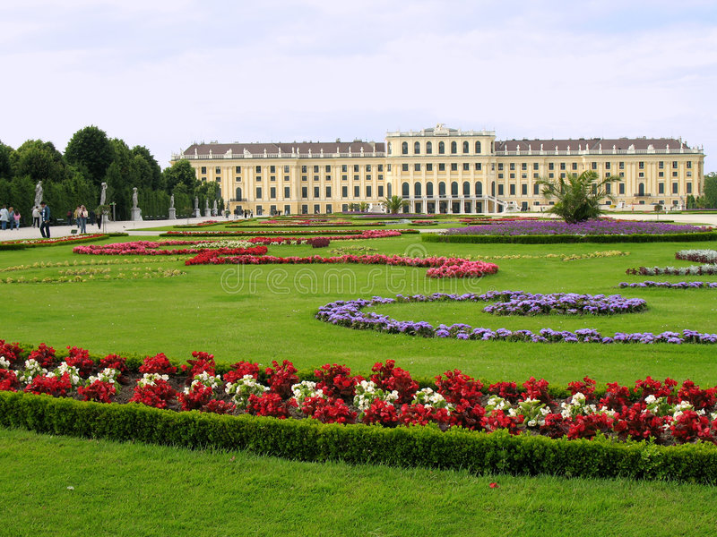 Schoenbrunn, Vienna royalty free stock photos
