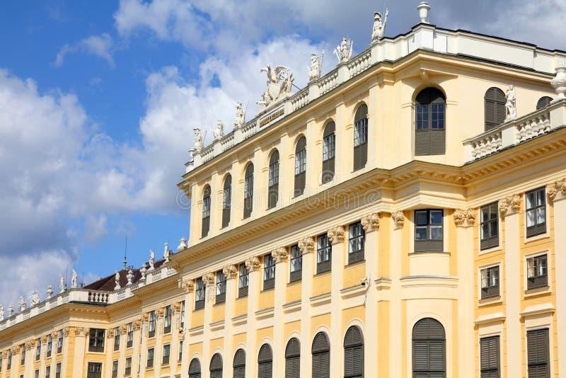 schoenbrunn vienna royaltyfri foto