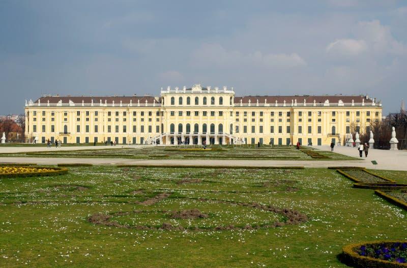 Schoenbrunn, Wenen stock fotografie