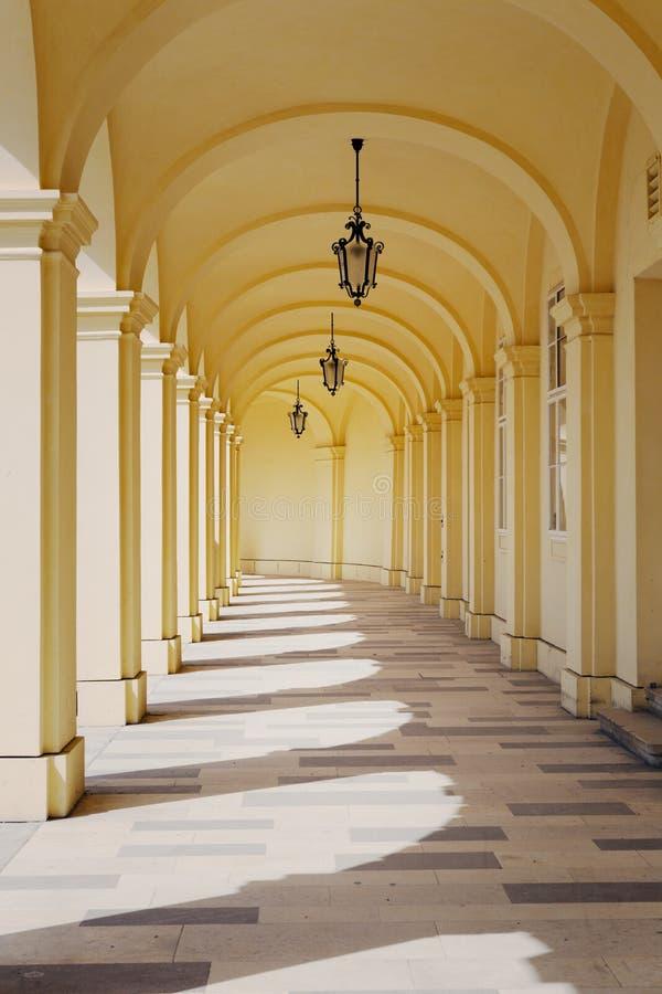 Schoenbrunnpaleis, Wenen, Oostenrijk stock fotografie