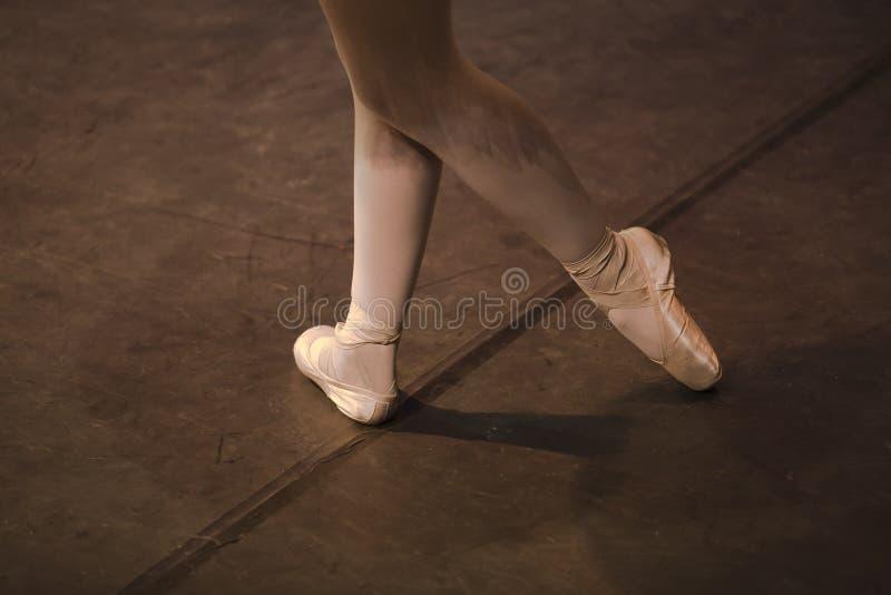 Schoenen 3 van Pointe royalty-vrije stock fotografie