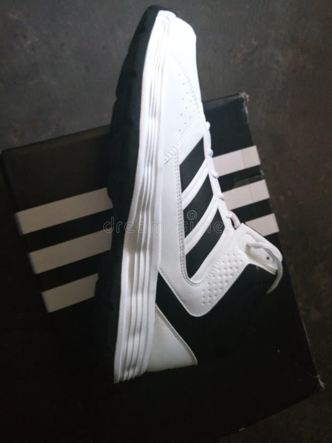 Schoenen Adidas royalty-vrije stock afbeeldingen