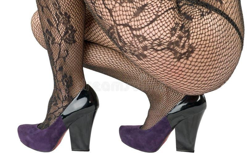 Schoenen en kousen, panty. royalty-vrije stock afbeelding