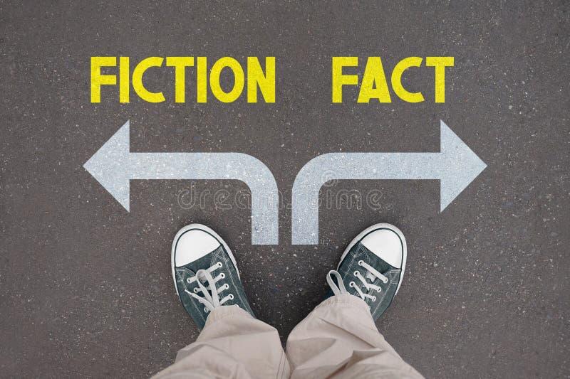 Schoenen, trainers - fictie, feit stock illustratie