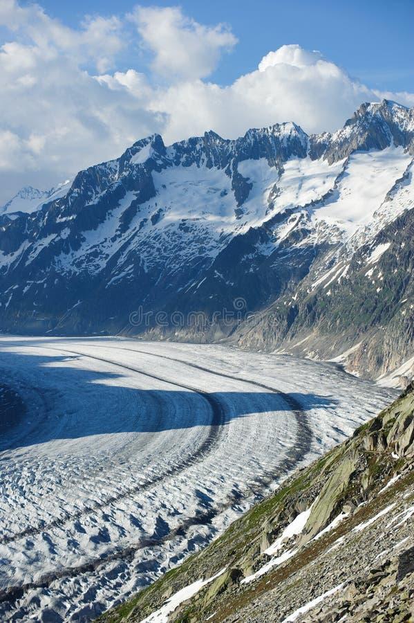 Download Schoenenbuelhorn (3854m) And Wannenhorn (3906m) Stock Image - Image: 15198151
