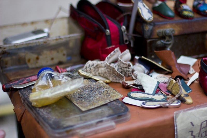 Schoenmakers` s hulpmiddelen royalty-vrije stock fotografie