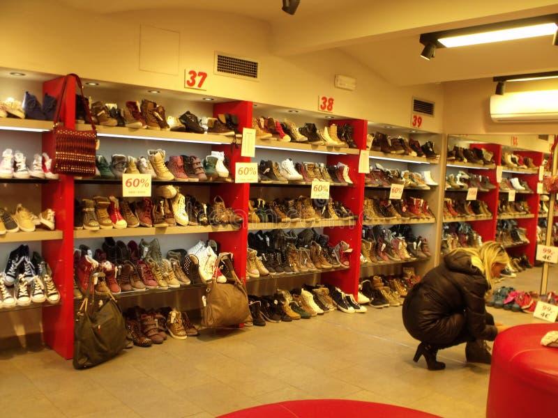 Schoenwinkel royalty-vrije stock foto's