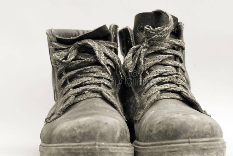 Schoes de la seguridad fotografía de archivo libre de regalías