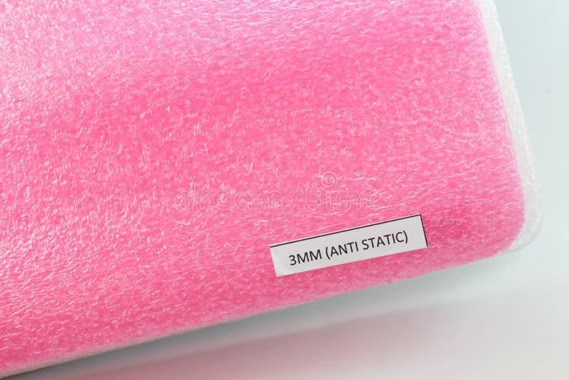 Schokbestendig materieel Polyethelene-antistatisch schuim royalty-vrije stock foto's