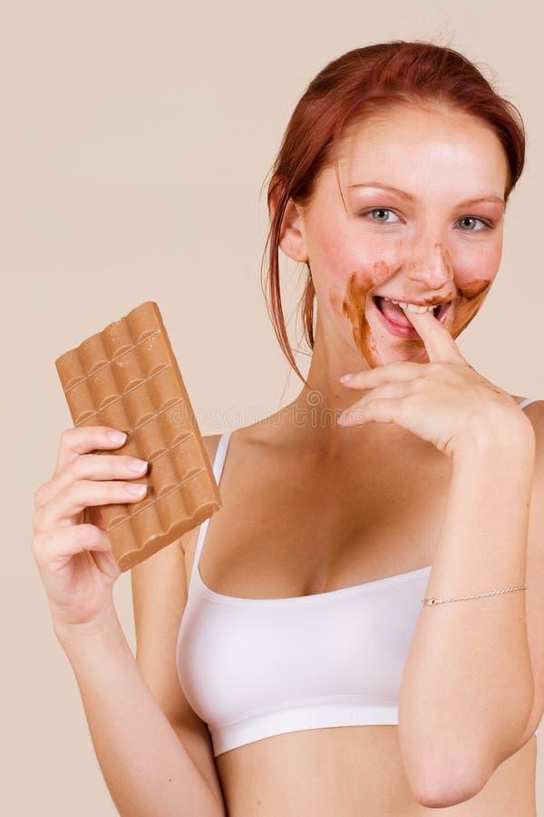 Schokolade #1 lizenzfreie stockfotos