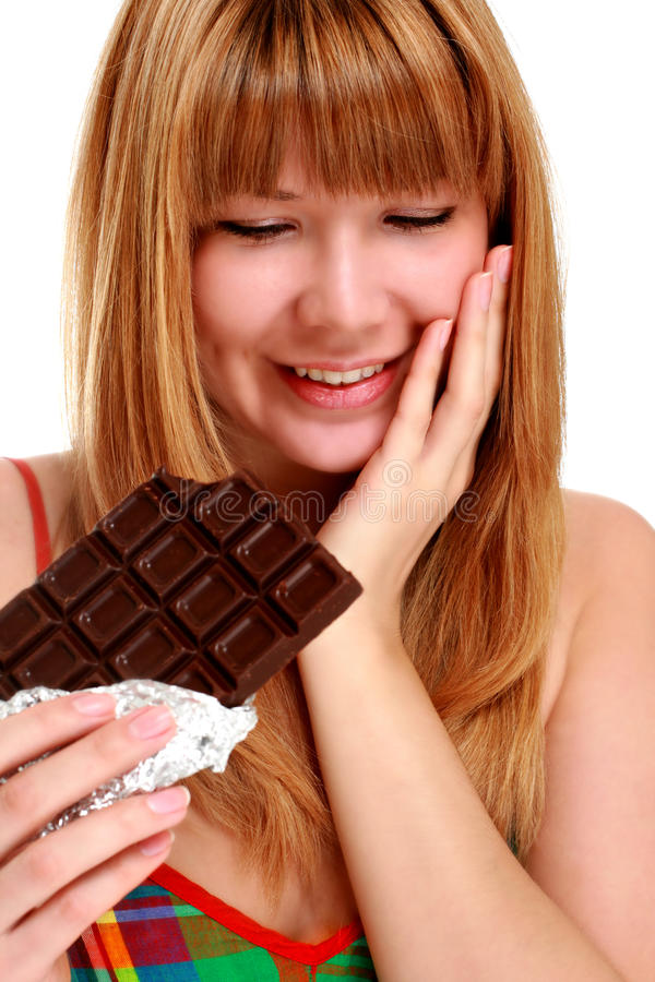 Schokolade. lizenzfreies stockbild