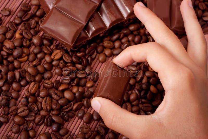 Schokolade stockbild