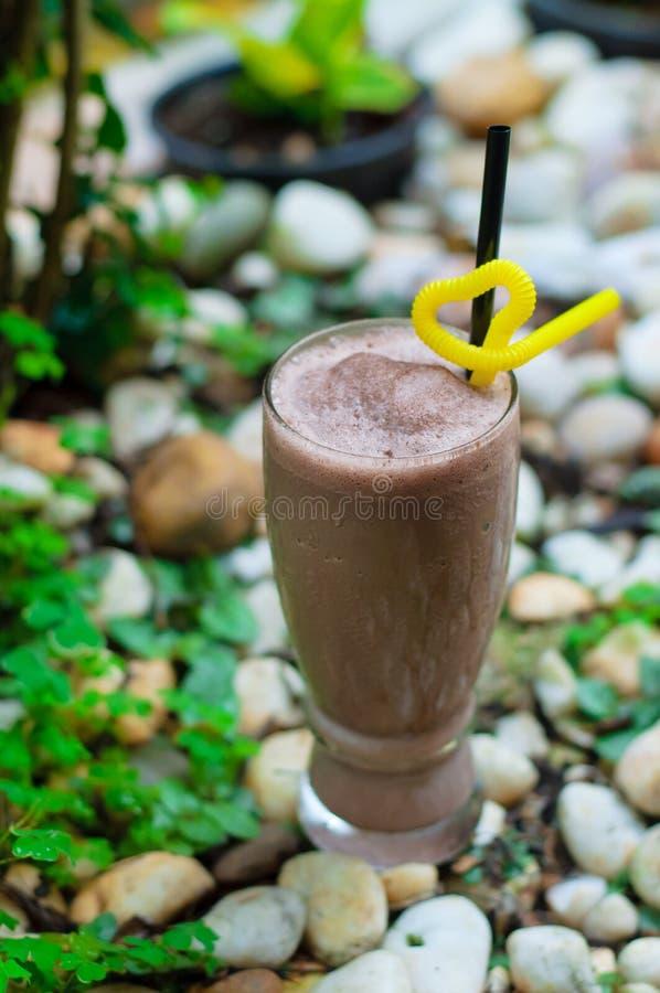 Schokolade Frappe stockfotos