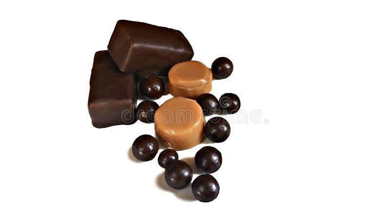 schokoladen lizenzfreie stockfotos