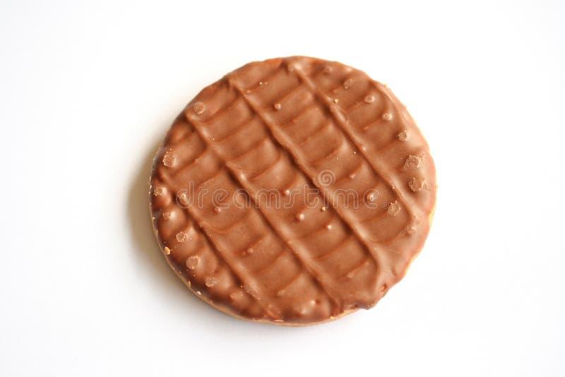 Schokoladen-Biskuit lizenzfreies stockbild