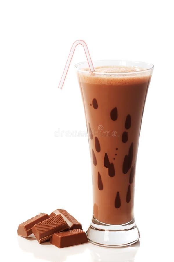 Schokoladen-Getränk stockfotos