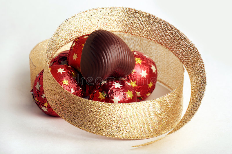 Schokoladen-Inneres stockfotos