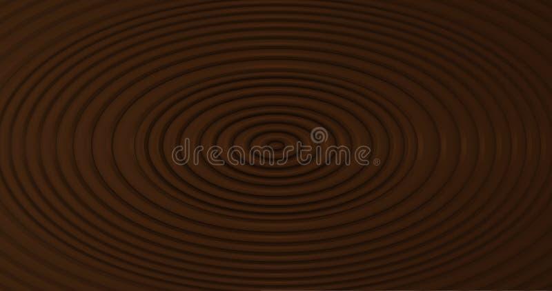 Schokoladen-Kräuselungen lizenzfreie stockfotos