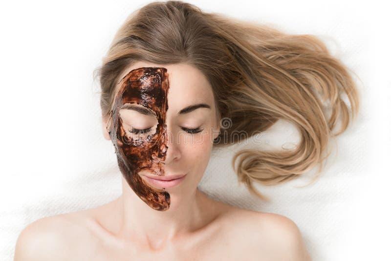 Schokoladen-Luxus-Badekurort stockbild