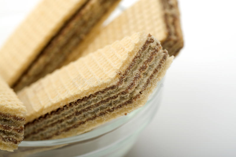 Schokoladen-Oblate lizenzfreies stockfoto