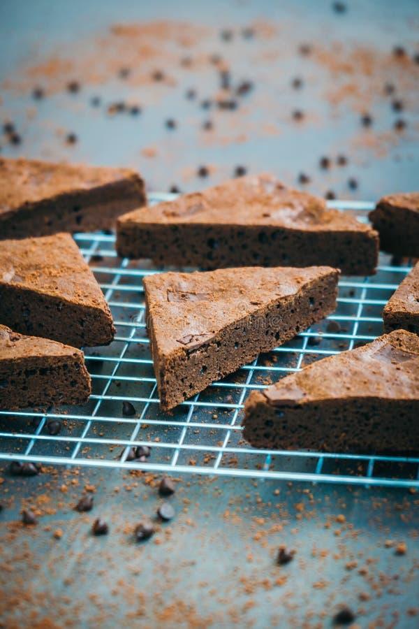 Schokoladen-Schokoladenkuchen stockfotografie