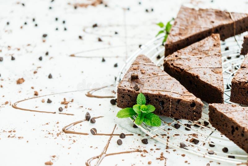 Schokoladen-Schokoladenkuchen lizenzfreies stockfoto