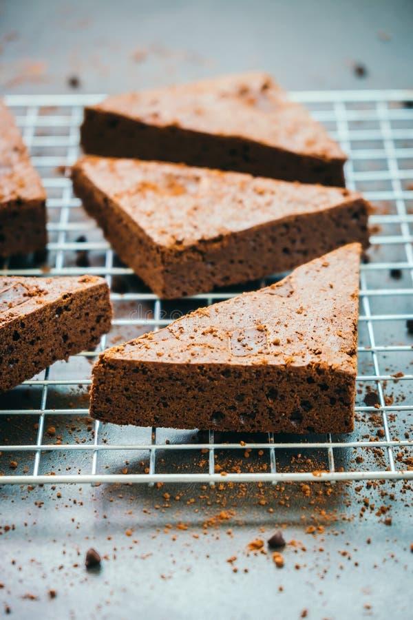 Schokoladen-Schokoladenkuchen stockbilder